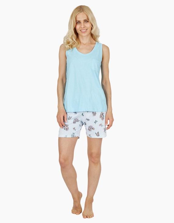 Bexleys woman Mix&Match kurze Hose mit Allover-Print | ADLER Mode Onlineshop