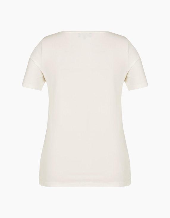 Bexleys woman T-Shirt mit Glitzer Statement-Print | ADLER Mode Onlineshop