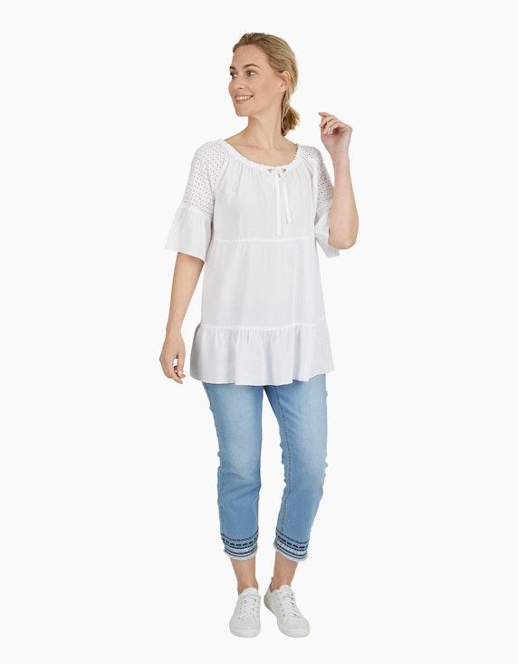 Viventy Jeanshose mit Stickerei in 7/8-Länge | ADLER Mode Onlineshop