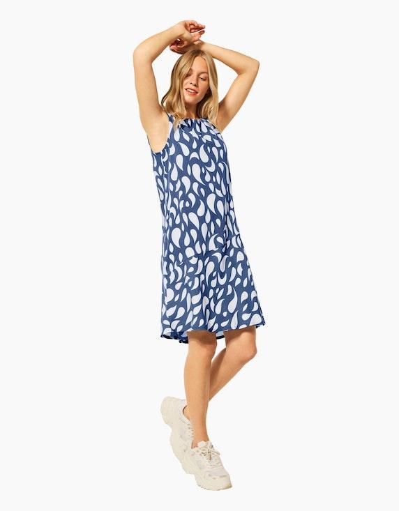 Street One Kleid mit Allover-Print | ADLER Mode Onlineshop