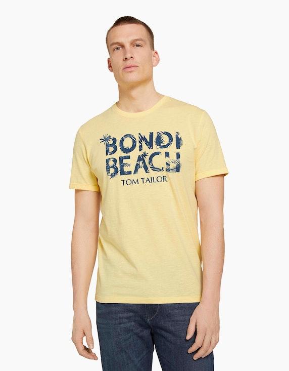 Tom Tailor T-Shirt mit Front-Print   ADLER Mode Onlineshop