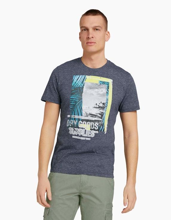 Tom Tailor T-Shirt mit Fotoprint   ADLER Mode Onlineshop