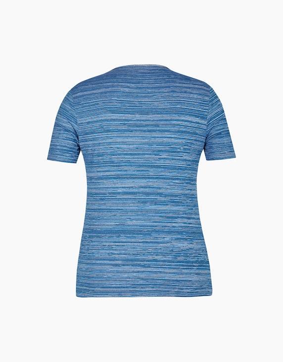 Bexleys woman Jacquard T-Shirt mit Strassbesatz | ADLER Mode Onlineshop