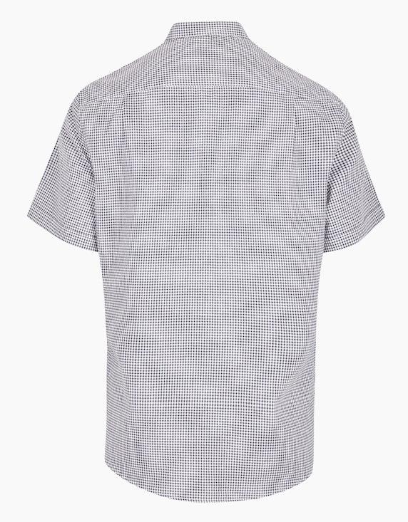 Bexleys man Freizeithemd mit Vichy-Karo und Leinenanteil, MODERN FIT | ADLER Mode Onlineshop