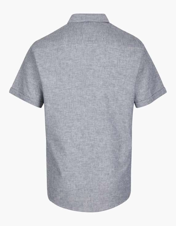 Bexleys man Klassisches Freizeithemd mit Leinenanteil, MODERN FIT | ADLER Mode Onlineshop
