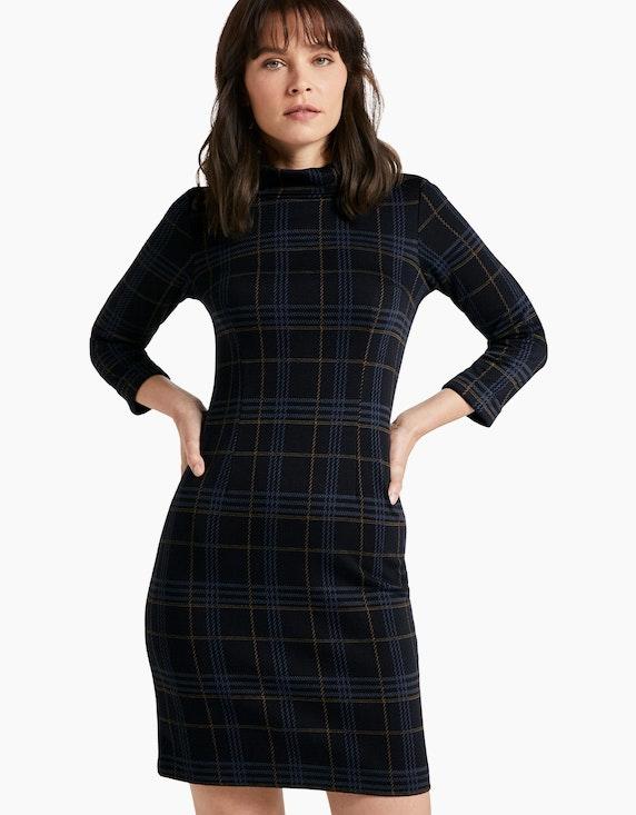 Tom Tailor Jaquard-Kleid mit Rollkragen | ADLER Mode Onlineshop