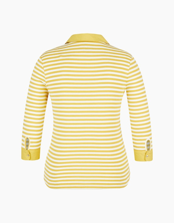 Bexleys woman Poloshirt mit 3-4-Arm | ADLER Mode Onlineshop