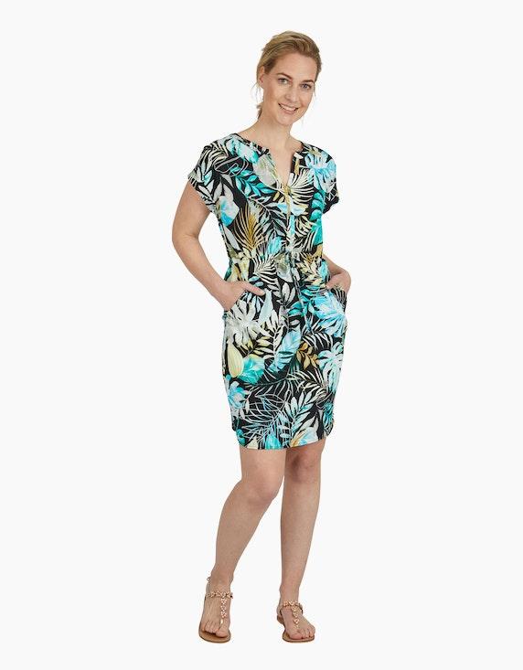 Viventy Kleid mit exotischem Muster, reine Baumwolle   ADLER Mode Onlineshop