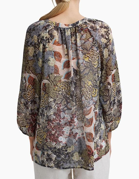 Esprit Chiffon-Bluse mit Top und Botanik-Print   ADLER Mode Onlineshop