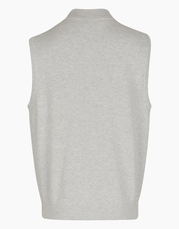 Bexleys man Weste in Piqué-Struktur und Taschen | ADLER Mode Onlineshop