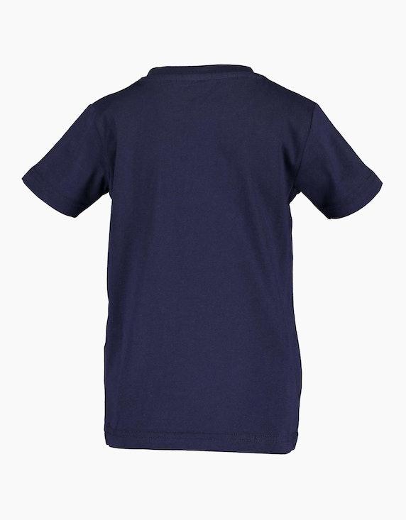 Blue Seven Mini Boys T-Shirt mit platziertem Front-Druck   ADLER Mode Onlineshop