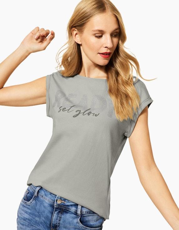 Street One T-Shirt mit Wording Print | ADLER Mode Onlineshop
