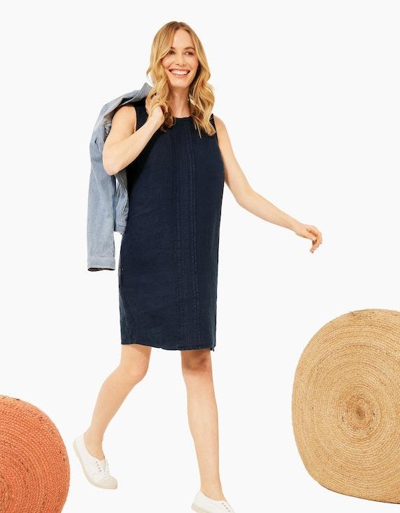 CECIL Leinen Kleid in Unifarbe   ADLER Mode Onlineshop