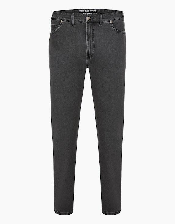 Big Fashion Basic 5-Pocket Jeans in Grau   ADLER Mode Onlineshop