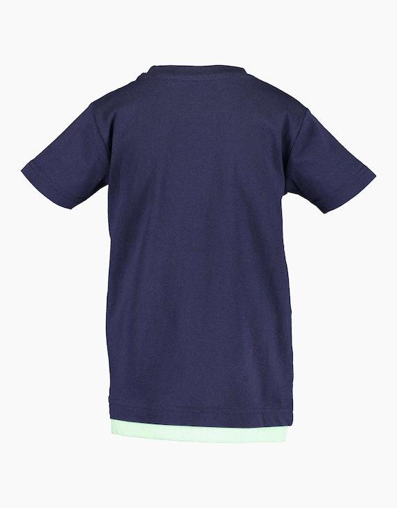 Blue Seven Mini Boys T-Shirt mit Quallen und Wording   ADLER Mode Onlineshop