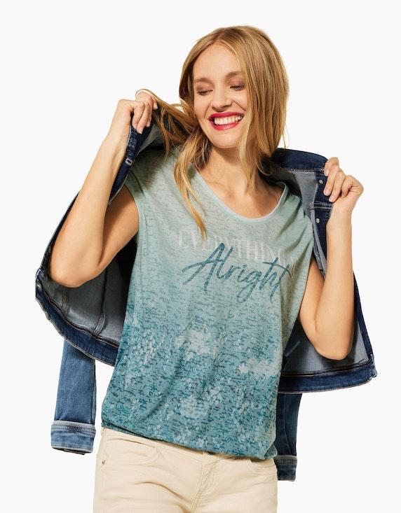 Street One T-Shirt mit Fotoprint | ADLER Mode Onlineshop