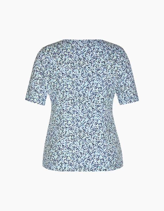 Rabe T-Shirt mit extravagantem Druck | ADLER Mode Onlineshop
