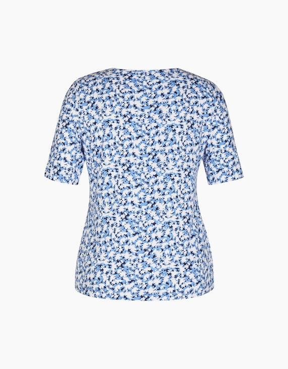 Rabe T-Shirt mit ausgefallenem Blumendruck | ADLER Mode Onlineshop