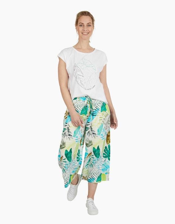 Viventy Hose im Culotte-Stil mit exotischem Muster | ADLER Mode Onlineshop