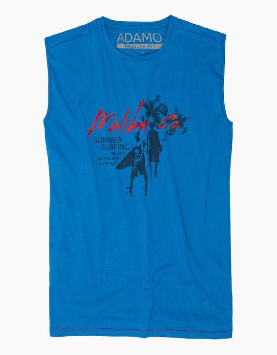 Big Fashion Achselshirt mit Brustdruck   ADLER Mode Onlineshop