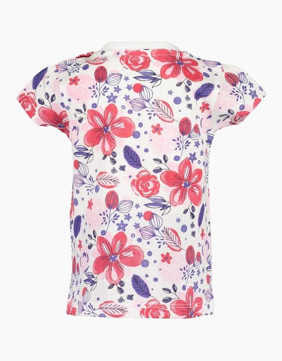 Blue Seven Baby Girls T-Shirt mit floralem Druck | ADLER Mode Onlineshop
