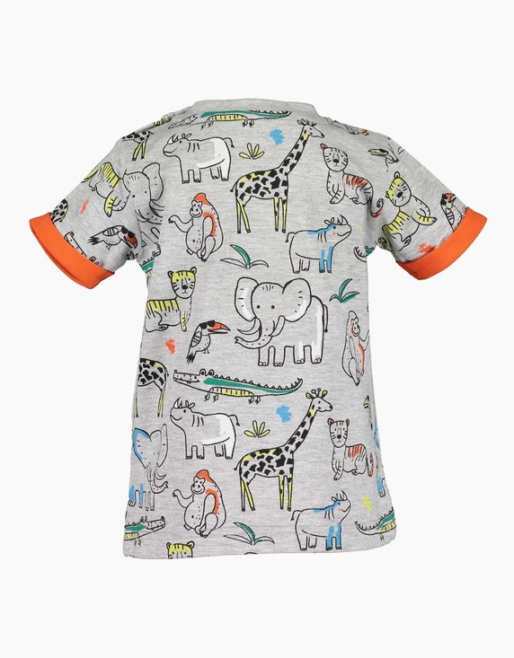 Blue Seven Baby Boys Shirt mit Allover-Print   ADLER Mode Onlineshop