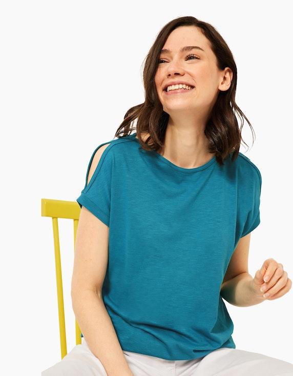CECIL Shirt mit Cut-out | ADLER Mode Onlineshop