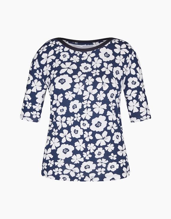 Rabe Shirt mit Blumendruck | ADLER Mode Onlineshop
