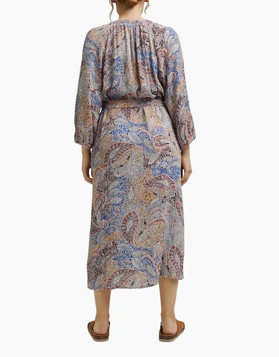 Esprit CURVY Crinkle-Blusenkleid mit Paisley-Print | ADLER Mode Onlineshop