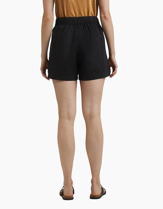 Esprit Shorts mit Bindegürtel im Hanf-Mix | ADLER Mode Onlineshop