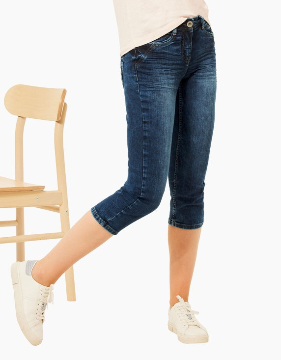 CECIL Capri-Jeans, Slim Fit, Style Charlize | ADLER Mode Onlineshop