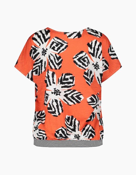 Gerry Weber Collection Shirt mit abstraktem Flowerprint | ADLER Mode Onlineshop