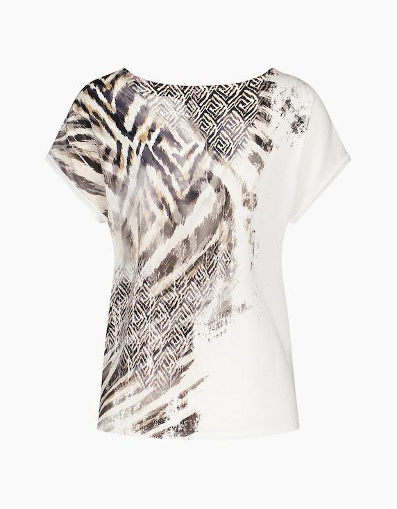 Gerry Weber Collection T-Shirt mit partiellem Print | ADLER Mode Onlineshop