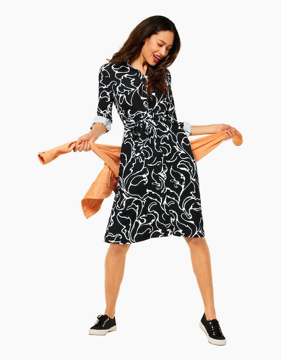 Street One Kleid mit Print | ADLER Mode Onlineshop