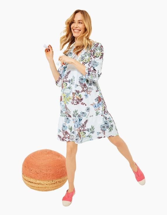 CECIL Kleid im Tunika Style aus Leinen | ADLER Mode Onlineshop