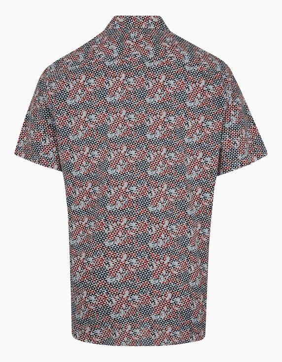 Bexleys man Freizeithemd, kurzarm, bedruckt   ADLER Mode Onlineshop