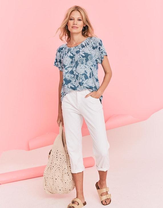 MY OWN Shirt mit Allover-Blumenmuster | ADLER Mode Onlineshop