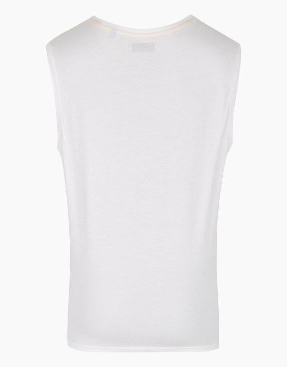 Bexleys man Tanktop mit kleinem Druck auf der Brust   ADLER Mode Onlineshop