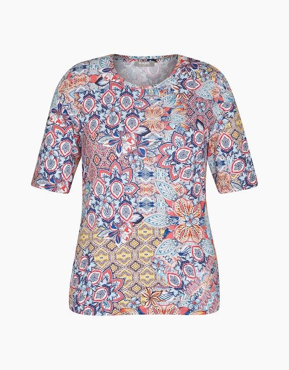 Rabe T-Shirt mit buntem Muster | ADLER Mode Onlineshop