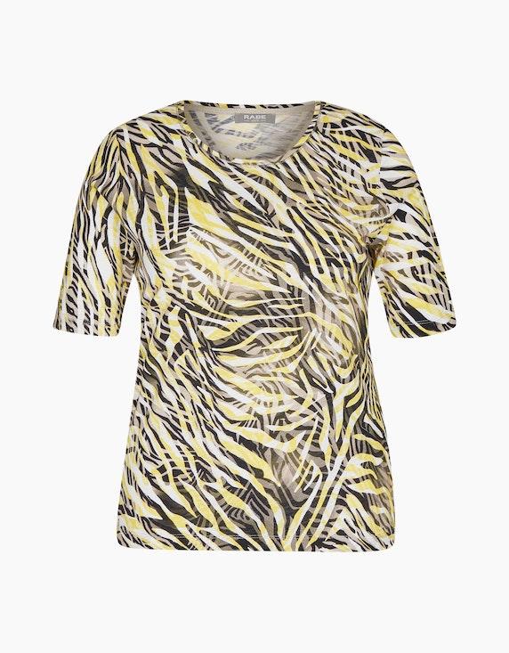 Rabe Shirt mit dreidimensionalem Animalprint | ADLER Mode Onlineshop