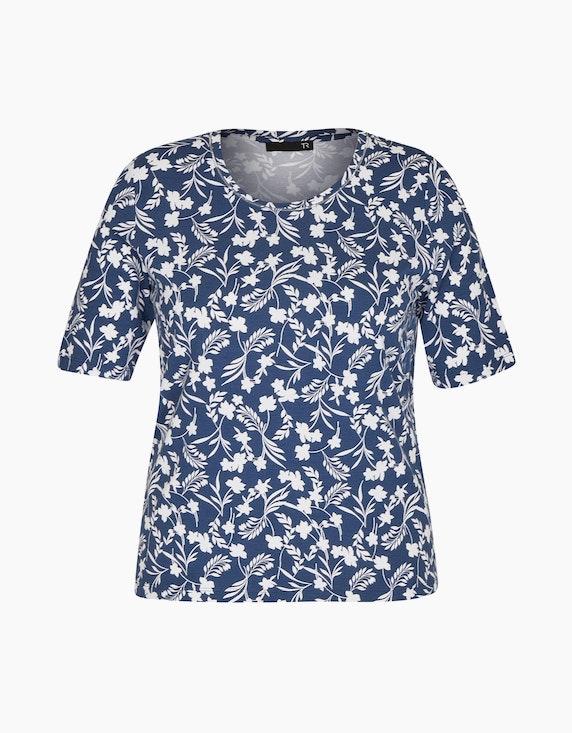Rabe Shirt mit floralem Allover-Muster | ADLER Mode Onlineshop