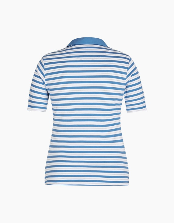 Bexleys woman Poloshirt mit Streifenmuster | ADLER Mode Onlineshop