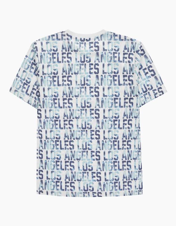 Tom Tailor Boys T-Shirt mit Allover-Wording | ADLER Mode Onlineshop