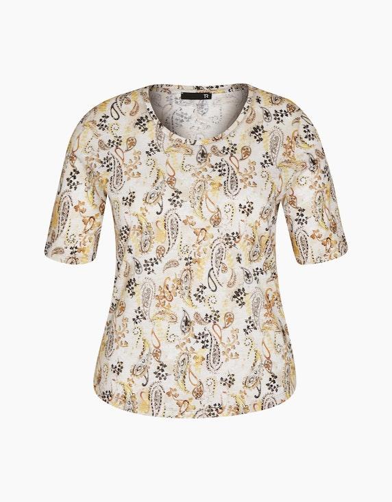 Rabe Halbarmshirt mit Paisleydruck | ADLER Mode Onlineshop