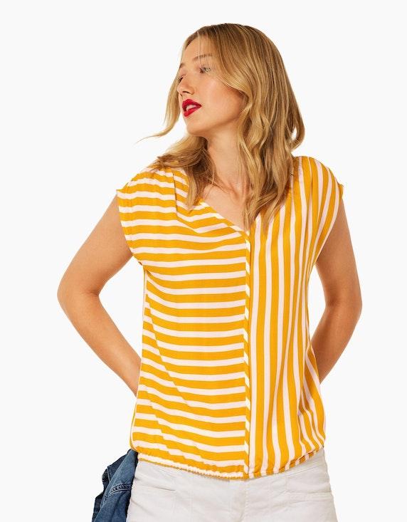 Street One Bluse mit Streifen-Printmix   ADLER Mode Onlineshop