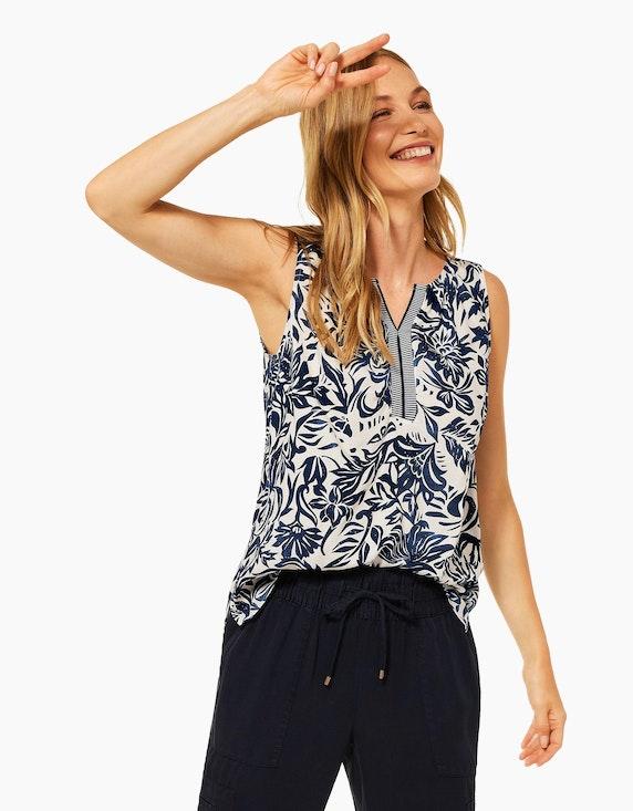 CECIL Blusentop mit floralem Muster   ADLER Mode Onlineshop
