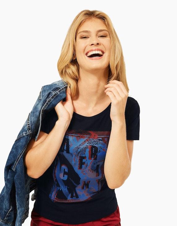 CECIL Basic-Shirt mit Frontprint | ADLER Mode Onlineshop