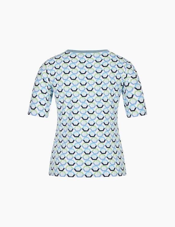 Rabe T-Shirt mit grafischem Print und halblangen Ärmeln | ADLER Mode Onlineshop