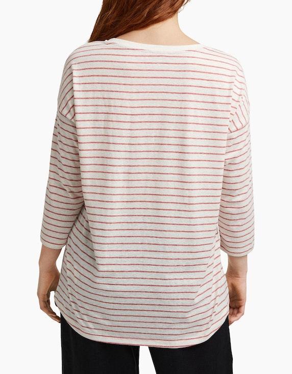 Esprit Basic-Shirt im Streifen-Look, CURVY | ADLER Mode Onlineshop