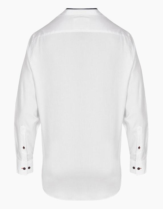 Bernd Berger Businesshemd mit modischem Stehkragen, MODERN FIT | ADLER Mode Onlineshop